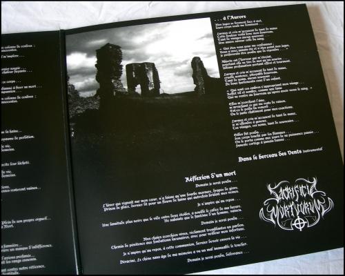 SACRIFICIA MORTUORUM, Les vents de l'oubli, Soldats Inconnus, LP, 33 tours, Les Créations Clandestines, Pro-tape, Black metal, Gilles de Rais