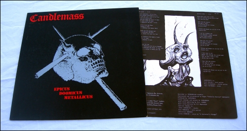 CANDLEMASS, Epicus Doomicus Metallicus LP, Black Dragon, Doom, Doom Metal, vinyl, collector