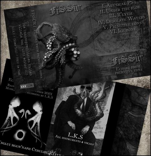 fissur,démo,2011,lovecraft,cthulhu,l.k.s