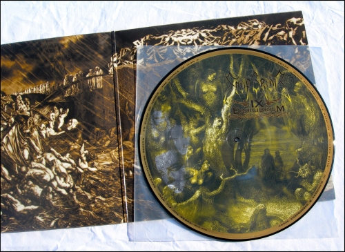 emperor,ix equilibrium,picture lp,candlelight,candle035lp,black metal