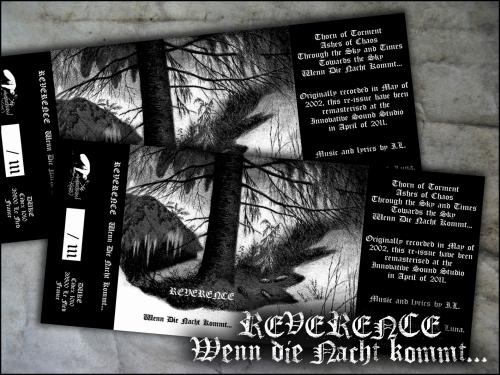 reverence,wenn die nacht kommt,démo,démo-k7,demo-tape,black metal,d.u.k.e 010