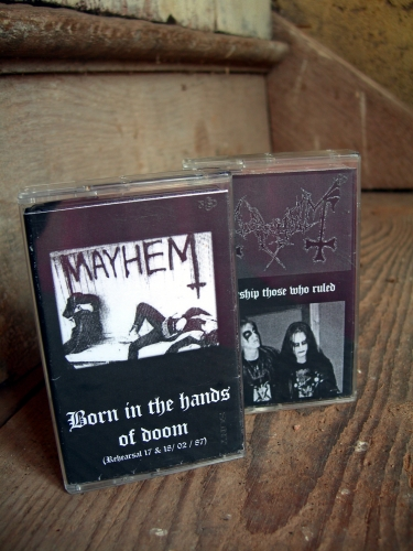 mayhem,born in the hand of doom,worship those who ruled,bootleg
