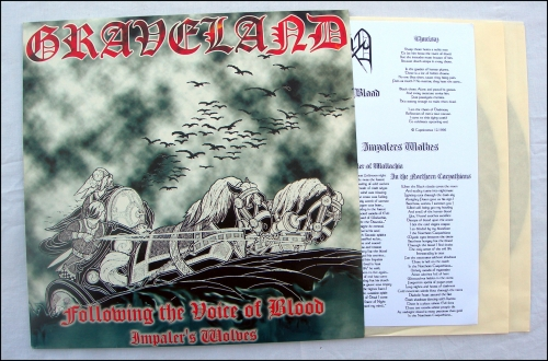 graveland,following the voice of blood,impaler's wolves,double lp,dlp,pagan black metal,pagan metal,black metal,rob darken,capricornus,no colours,vinyl,vinyls