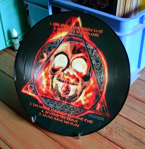 varathron,the lament of gods,picture lp,gblack metal