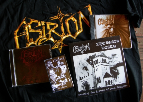 osirion,evil made history,har sabbat,reconquista,the black death,démo-k7,7'epn black metal