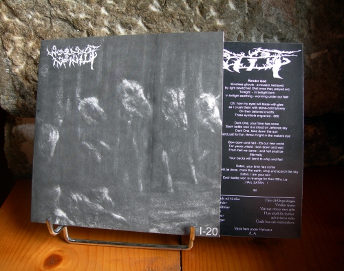 woods of infinity,7'ep,total holocaust records,black metal