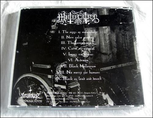 Mütiilation,Black Millenium,Grimly Reborn,Meynac'h,Drakkar, DKCD 014