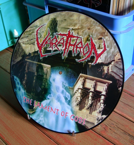 VARATHRON,The Lament of Gods,Picture lp, GBlack metal