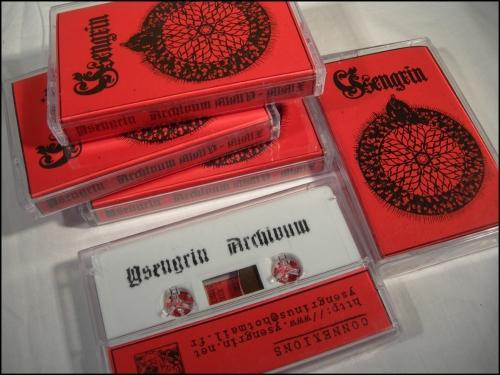 ysengrin,archivum mmv-mmx,démo-k7,demo-tape,pro-tape,black metal