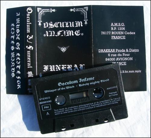 collectors,tapes,demo-k7s,pro-tapes,arghoslent,armaggedon,bekhira,elisabetha,godless north,osculum infame,funeral,uruk-hai,hrossharsgrani,venedae,vinterriket